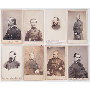 Civil War Union Generals - Sherman, Wistar, Hazen, Wallace, Meade, Hooker, Smith
