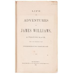 1873 California Published Slave Narrative