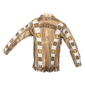 Northern Plains Beaded Hide Scout Jacket, From the Collection of Robert Jerich, Illinois