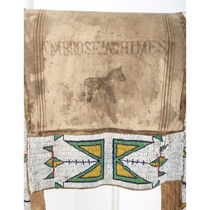 Sioux Beaded Saddle Blanket, From the Collection of Robert Jerich, Illinois