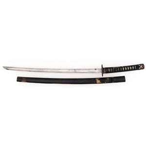 Japanese Showato Samurai Sword (Katana) in Civilian Mounts