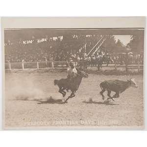Cowboy and Rodeo Scenes, Vintage Photographs by Walker, Stryker, Bate Studio, and More