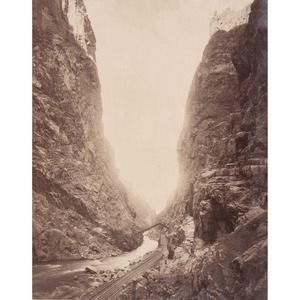 Yosemite National Park Incl. Wawona, and Colorado, Large Format Photographs by I.W. Taber