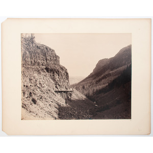 F. Jay Haynes Photographs and Prints of Yellowstone, Incl. Large Format Albumen of the Golden Gate Viaduct