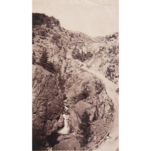 William Henry Jackson Large Format and Cabinet Photographs of Colorado, Lot of Twenty