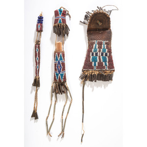 Kiowa Strike-a-Light Set, From the Collection of Robert Jerich, Illinois