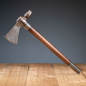 Eastern Woodlands Pipe Tomahawk, with Decorated Blade