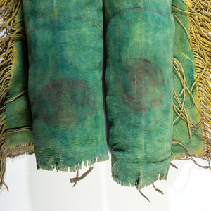Arapaho Polychrome Hide Leggings, From the Collection of Robert P. Jerich, Illinois