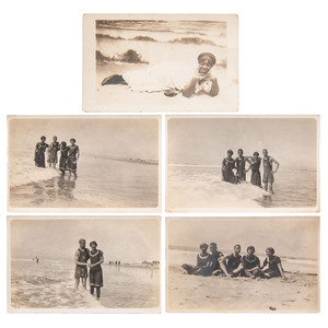 African American at the California Beaches, circa 1910-1913