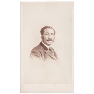 Charles Mitchell, CDV Portrait, Boston, 1867