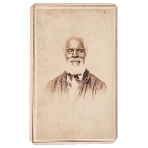 CDV of a Bearded Man, Augusta, Georgia, 1870s