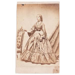 Mrs A.R. Abbott, Cleveland, Ohio, circa 1865