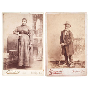 Missouri Cabinet Card Portraits of African Americans