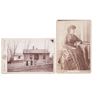 Western Cabinet Cards with African American Subjects