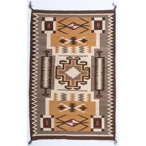 Navajo Storm Pattern Weaving / Rug