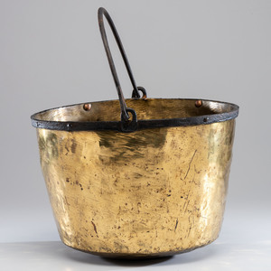Hudson Bay Company Brass Trade Kettle