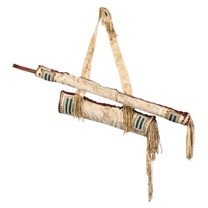 Apache Bow Case and Quiver, with Bow