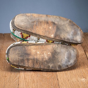 Northern Plains Beaded Moccasins