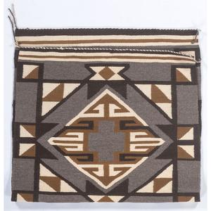 Navajo Eastern Reservation Double Saddle Blanket / Rug