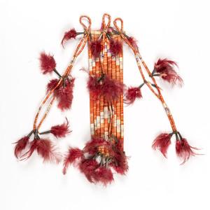 Plains Quilled Hair Ornament