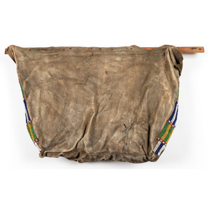 Sioux Beaded Hide Possible Bag