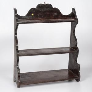 A Three-Tier Hanging Shelf