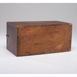 A New England Pine Candle Box with Slide Top