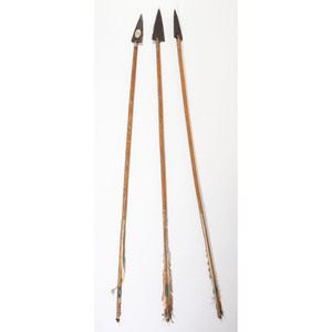 Northern Plains Arrows, Matched Set, From the Collection of Robert Jerich, Illinois