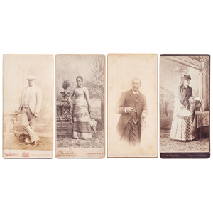 Boudoir Cards of African Americans by Western Photographers