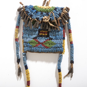 Sioux Beaded Bag with Long Drops, From the Collection of Robert Jerich, Illinois