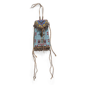 Central Plains Beaded Strike-a-Light, From the Collection of Robert Jerich, Illinois