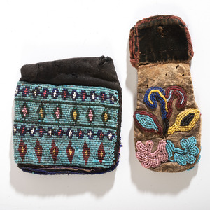 Menominee and Prairie Bags, From the Collection of Robert Jerich, Illinois
