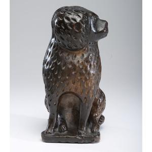 An Ohio Bagnall-style Dog with Dark Glaze