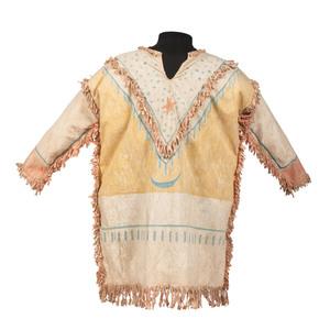 Plains Painted Ghost Dance Muslin Shirt