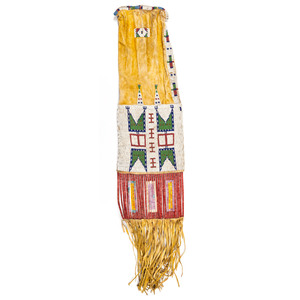 Sioux Beaded Hide Tobacco Bag, From the Collection of Judith & Gary Gay, Morrow, Ohio