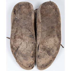 Northern Plains Beaded Hide Moccasins, From the Collection of Judith & Gary Gay, Morrow, Ohio