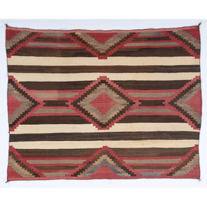 Navajo Third Phase Blanket / Rug, From the Collection of Judith & Gary Gay, Morrow, Ohio