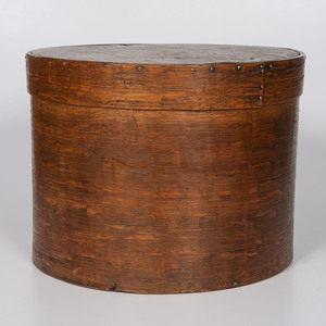 A Large Bentwood Pantry Box