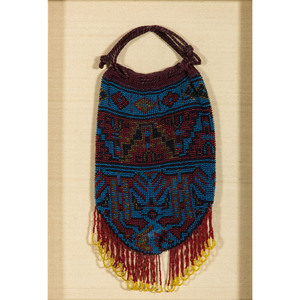 Great Lakes Beaded Panel AND Pouch