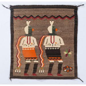 Navajo Yeibichai Weaving / Rug