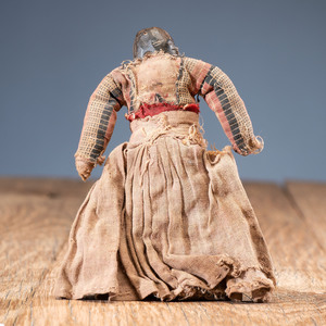 Northern Plains Wood Doll, From an Estate in Sinking Springs, Ohio