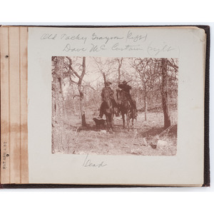 1893 Indian Territory Album with Images of Tacky Grayson