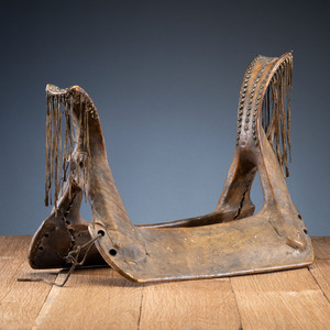 Southern Plains Tacked Saddle, From an Estate in Sinking Springs, Ohio