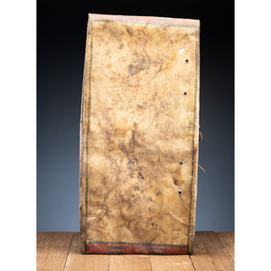 Large Sioux Buffalo Hide Parfleche Envelope, From an Estate in Sinking Springs, Ohio