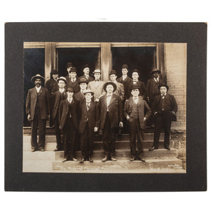 Bass Reeves in The Federal Official Family, Nov. 16, 1907, Muskogee, Oklahoma, Oversize Photograph