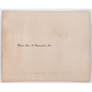 Slave Pen at Alexandria, circa 1864