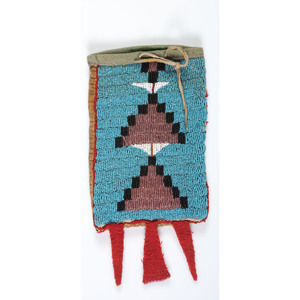 Plains Beaded Bag, From the Collection of Nick and Donna Norman, Colorado