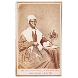 Sojourner Truth CDV, 1864