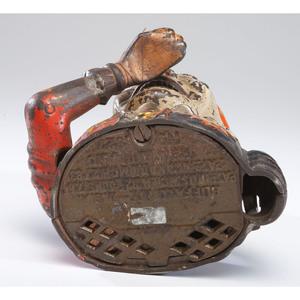 A Humpty Dumpty Cast Iron Mechanical Bank