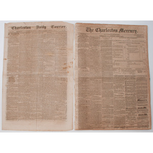 Confederate and Southern Imprints from Richmond, Charleston, and New Orleans, Incl. Charleston Daily Courier